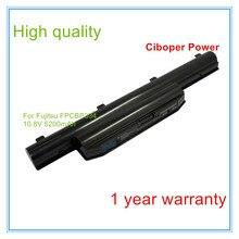 5200 mAh batterie dordinateur portable Pour LH532 AP LH532 FPB0271 FPCBP335 FMVNBP216 FPB0272 FPCBP334 CP568422-01 FMVNBP215