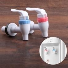 Distributeur deau en plastique   Taille universelle, Type poussoir, robinet de remplacement de la maison, fontaines à boire essentielles pièces O10 livraison directe