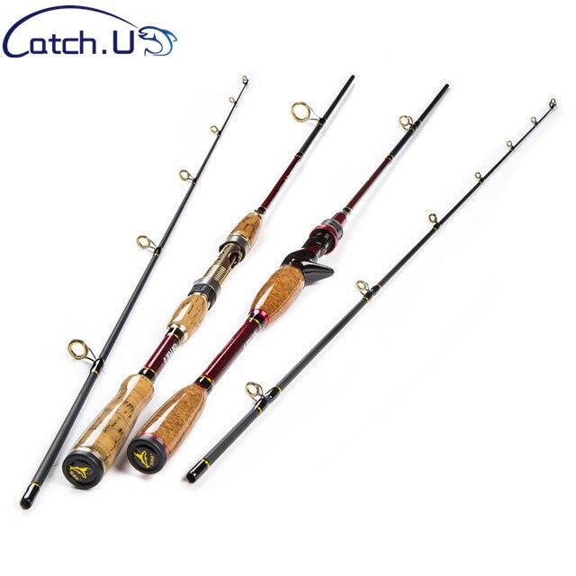 2.1 m 10-25g teste comprimento ajustável fibra de carbono isca carpa fundição fiação vara de pesca