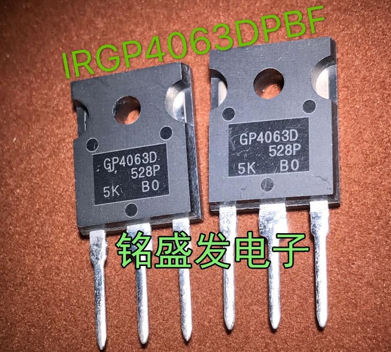 10pcs/lot IRGP4063D IRGP4063DPBF GP4063D IRGP4063 600V 96A 330W TO-247 In Stock