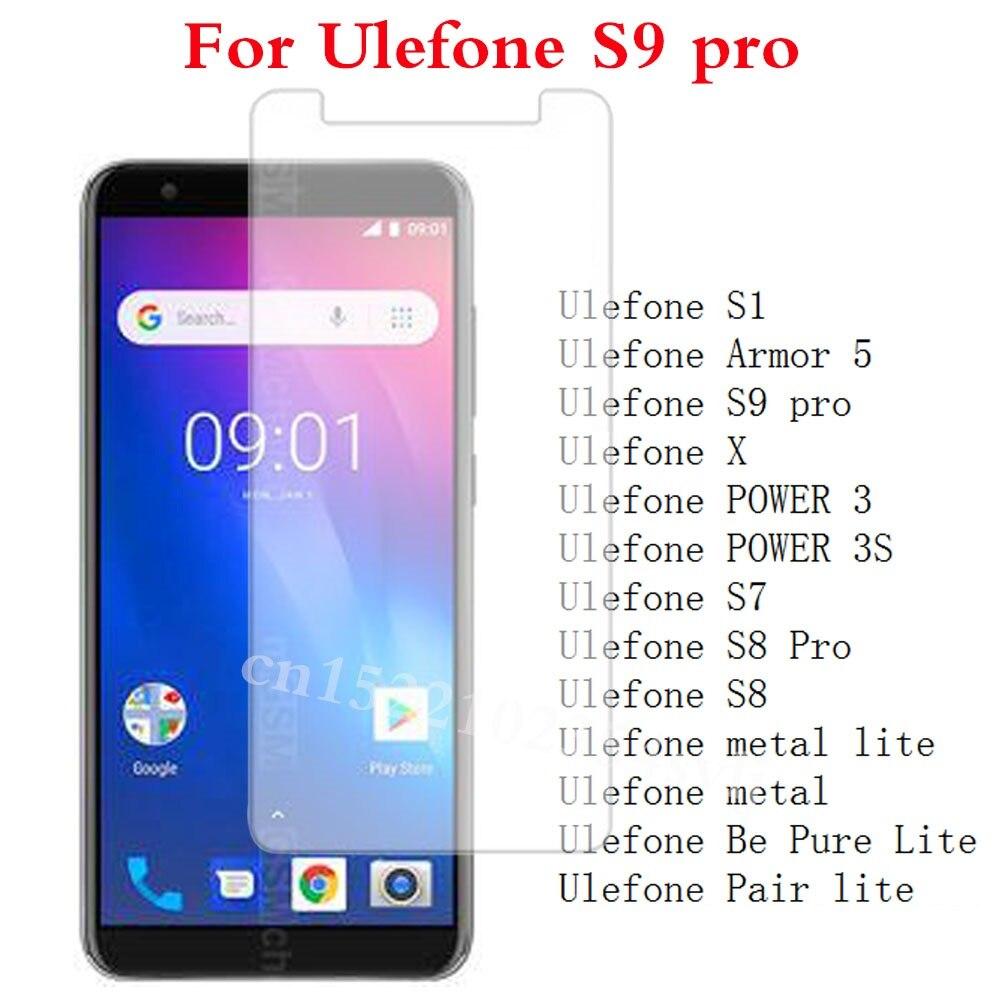 Закаленное стекло для Ulefone S9 pro S1 Armor 5 X POWER 3 3s S7 S8 Pro metal lite Be Pure Lite Pair lite Защитная пленка для экрана>