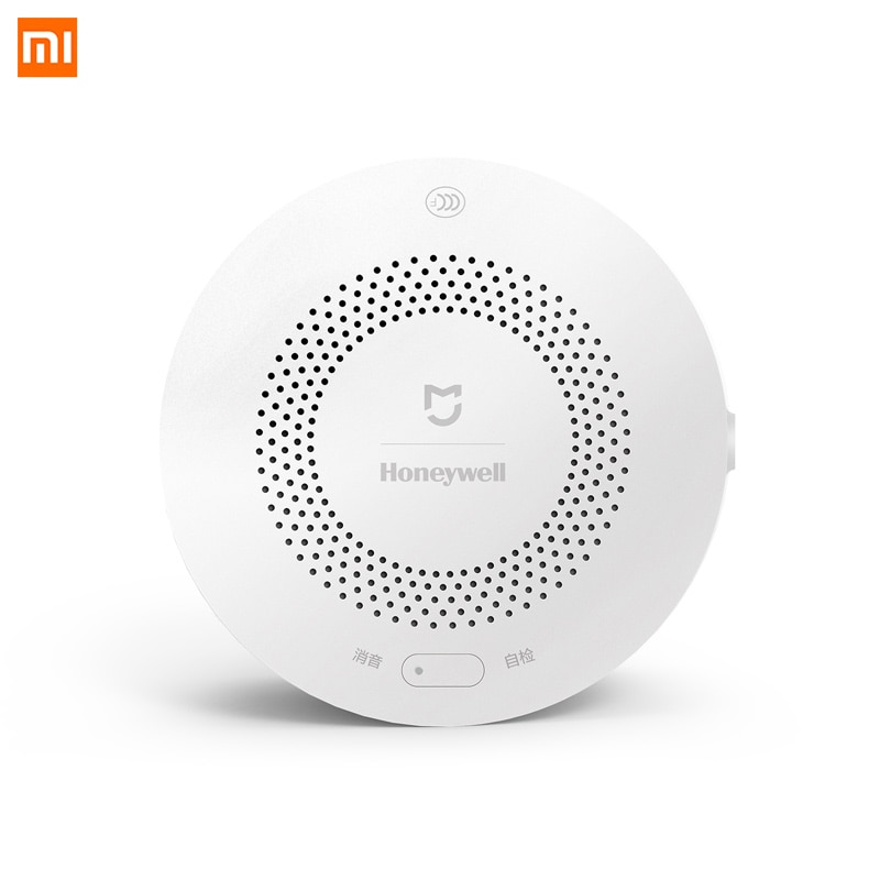 Xiaomi Honeywell Detector de alarma de Gas Zigbee Control remoto CH4 monitoreo de detección de techo montado en la pared fácil de instalar aplicación Mijia