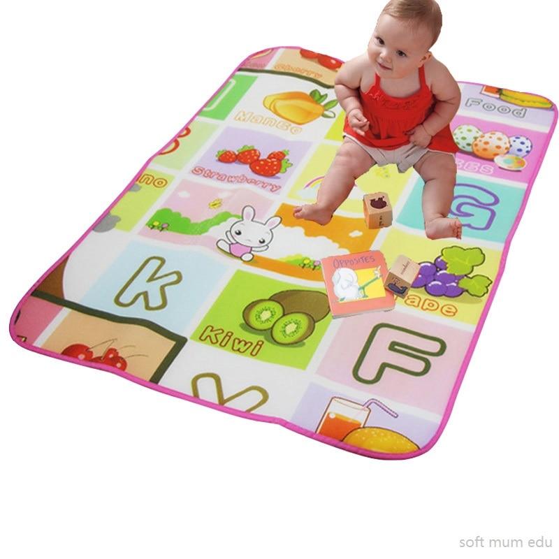 New Baby Playmat children outside Mat Rug Kids crawling gym mats eva foam carpets educational ground boys girls development toys