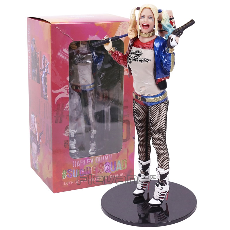 Figura de juguete coleccionable a escala 1/6 estatua Harley Quinn Suicide Squad