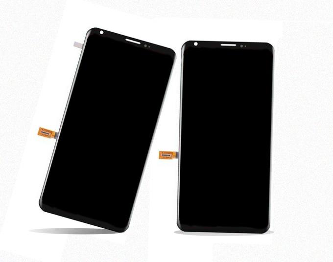 Nueva llegar con el marco para LG V30 más V30 + plus + H930DS H932 VS996Touch pantalla con pantalla LCD asamblea de pantalla digitalizador