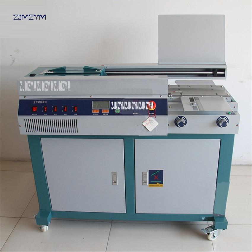 التلقائي A4 الغراء آلة تجليد 320 مللي متر الغراء كتاب الموثق الكمال الموثق ملف المالية الكهربائية الموثق كتيب 55H 1000W 1 قطعة