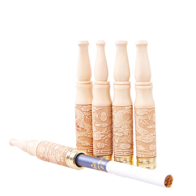 Pipa de madera de grado pipa de Fumar hierba creativa portátil pipas de tabaco regalos Narguile humo boquilla fumar Accesorios