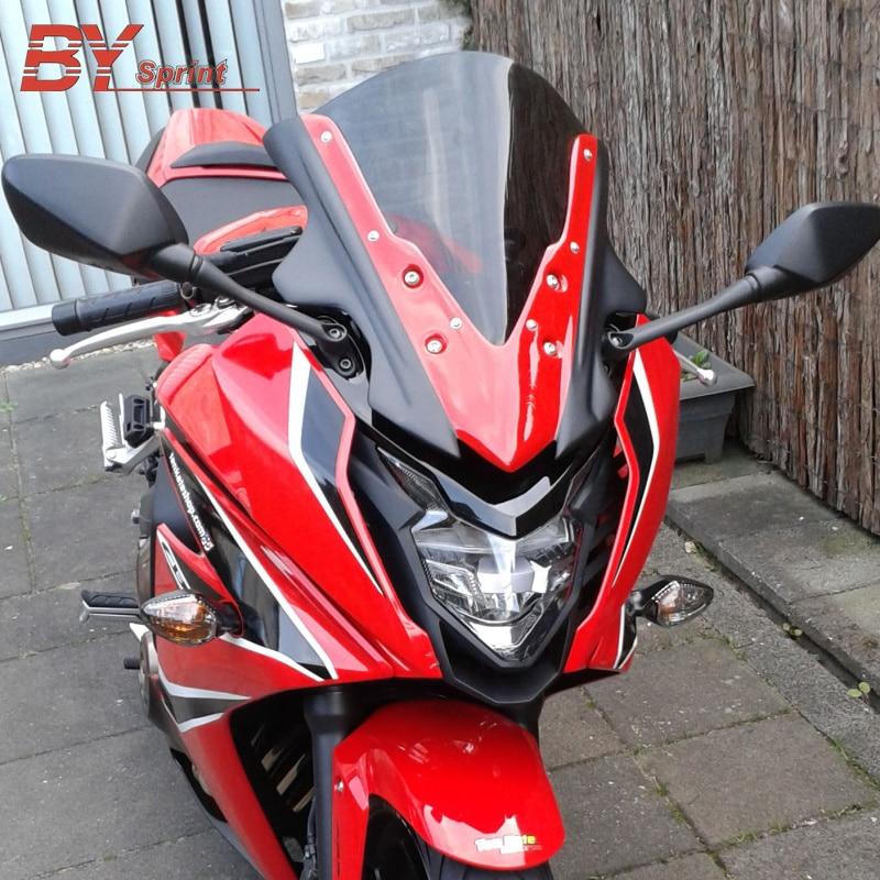 NEW Motorcycle Accessories ABS Windshield WindScreen Wind Deflector Visor Viser For HONDA CBR650F CBR 650F cbr650f 2014-2019