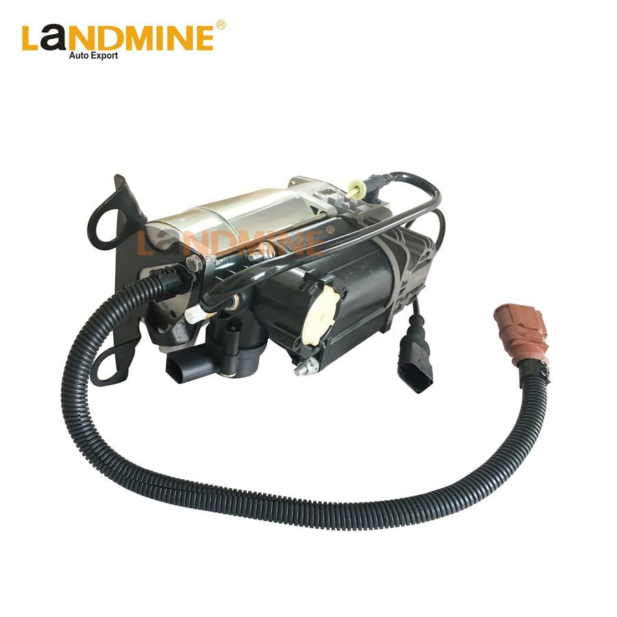 Frete grátis compressor de suspensão a ar bomba ar passeio apto audi a6 c6 4f0616006a 4f0616005e