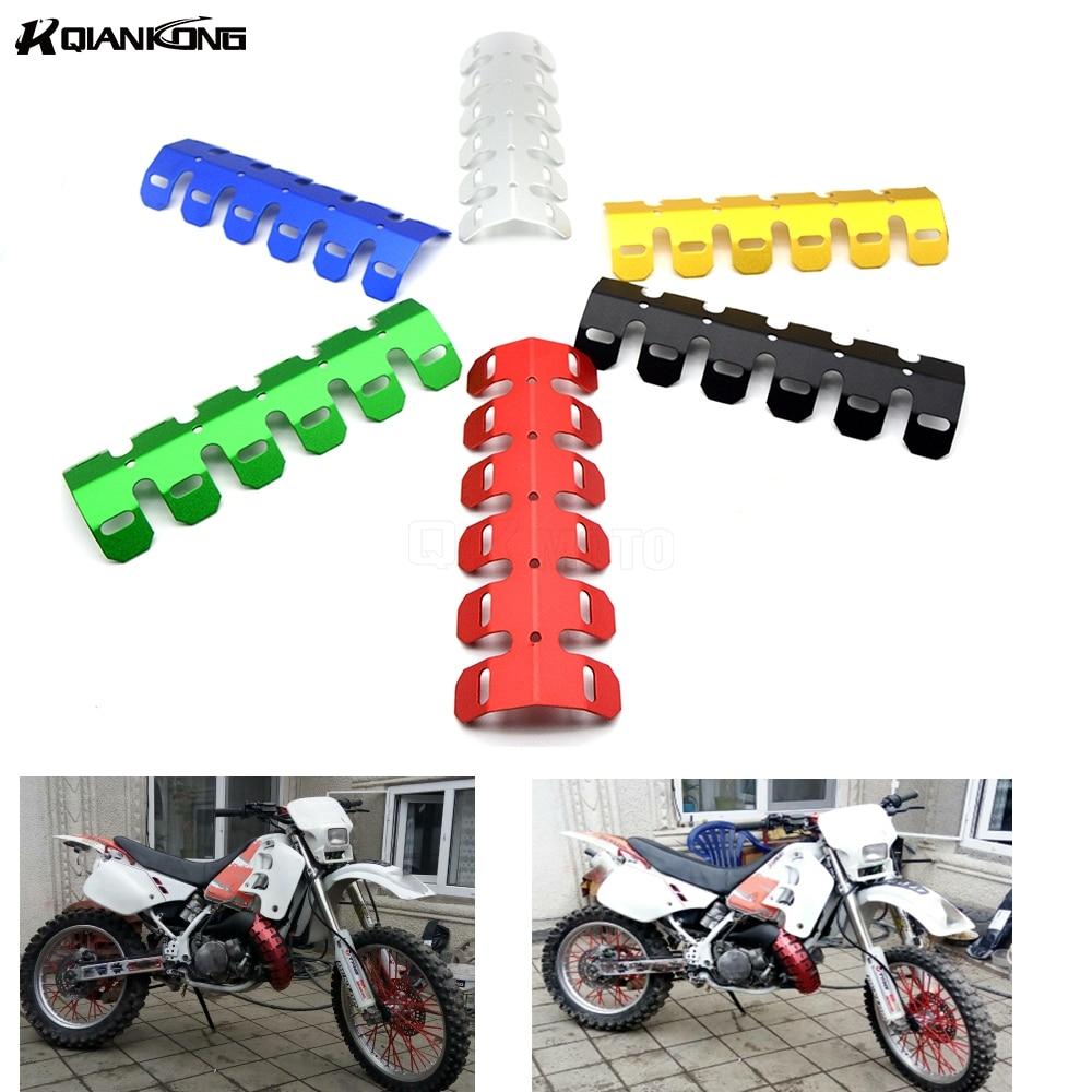 Silenciador de escape para motocicleta protector de tubería cubierta de protección térmica para Honda CB650F CB1000R CBR 600f4i CB400 Suzuki yamaha Yzf