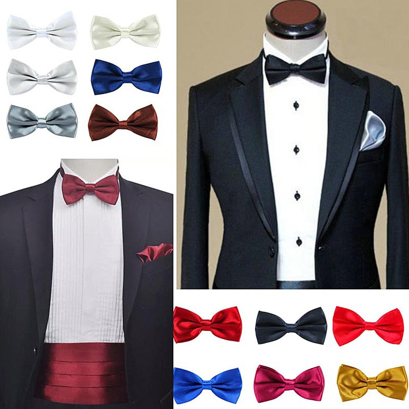 Boy Bow Tie High quality Bowtie Necktie Homme Noeud Papillon Corbatas Hombre Pajarita Gift for men Chirstmas gift