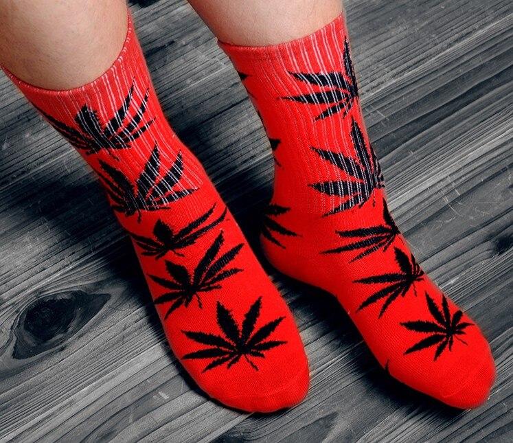 Winter hohe Qualität Harajuku chaussette Stil Unkraut Socken Für Frauen männer Baumwolle Hip Hop Socken Mann Meias Herren Calcetines