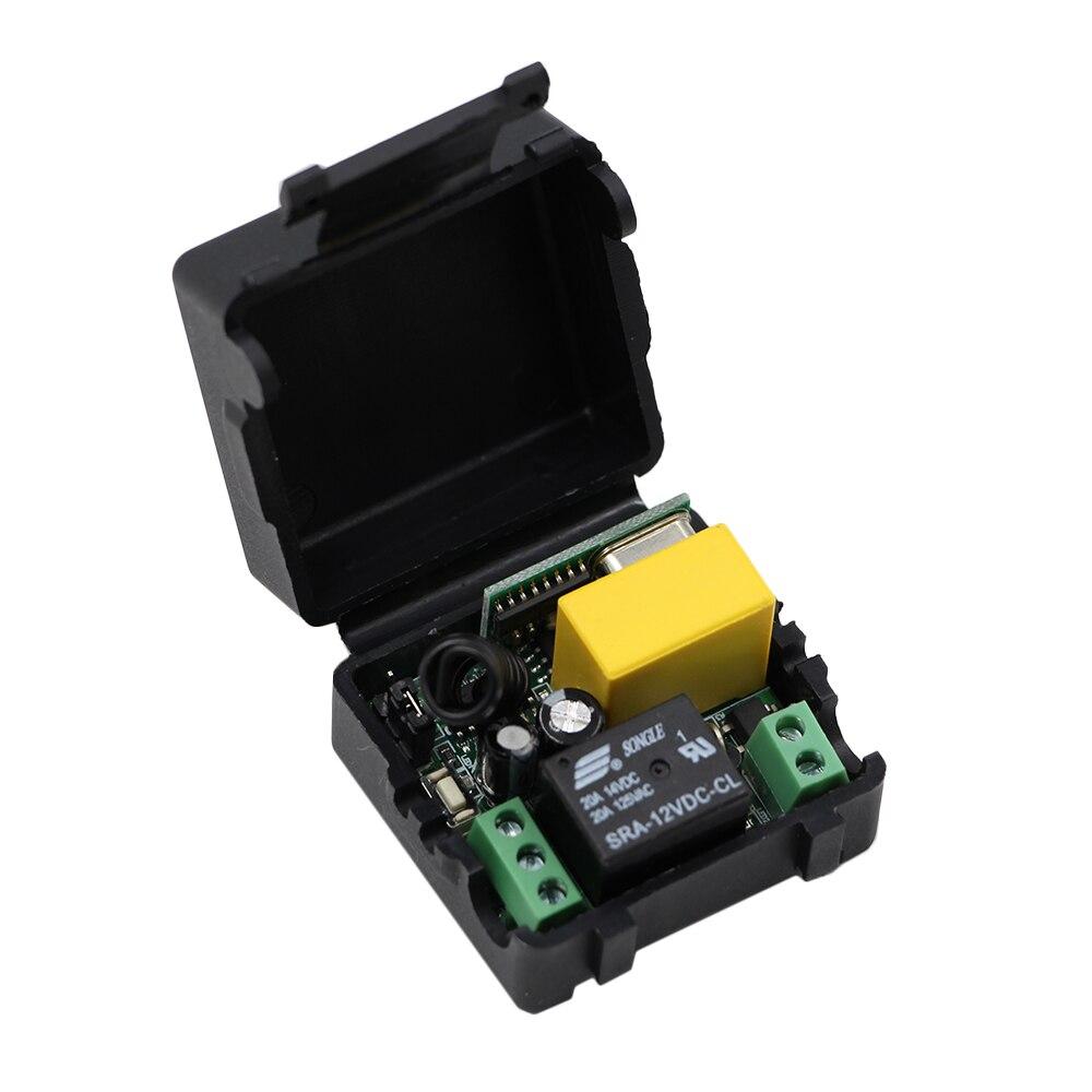 Беспроводной дистанционный выключатель, 1 канала, 220 В перем. Тока, 10 А, только приемник с корпусом 315/433 МГц