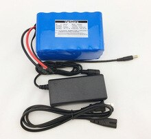 24v 6Ah 6S3P 18650 литиевая батарея 25,2 V электрический велосипед мопед/Электрический/литий-ионный аккумулятор + 25,2 V в 1A зарядное устройство