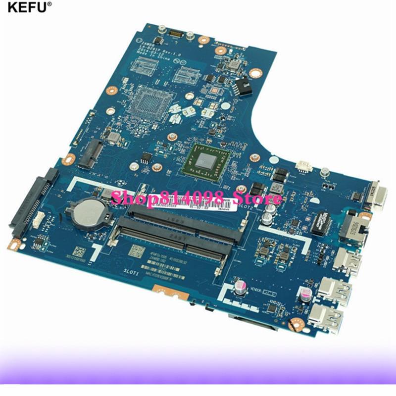 KEFU LA-B291P PARA LENOVO laptop motherboard ZAWBB B50-45 LA-B291P REV 1.0 mainboard E1-6010 NOTEBOOK PC