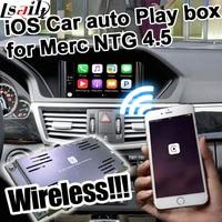 Wireless Car auto play box for Mercedes benz NTG 4.5 A B C E GLK ML command & auido20 etc for Mercedes benz carplay
