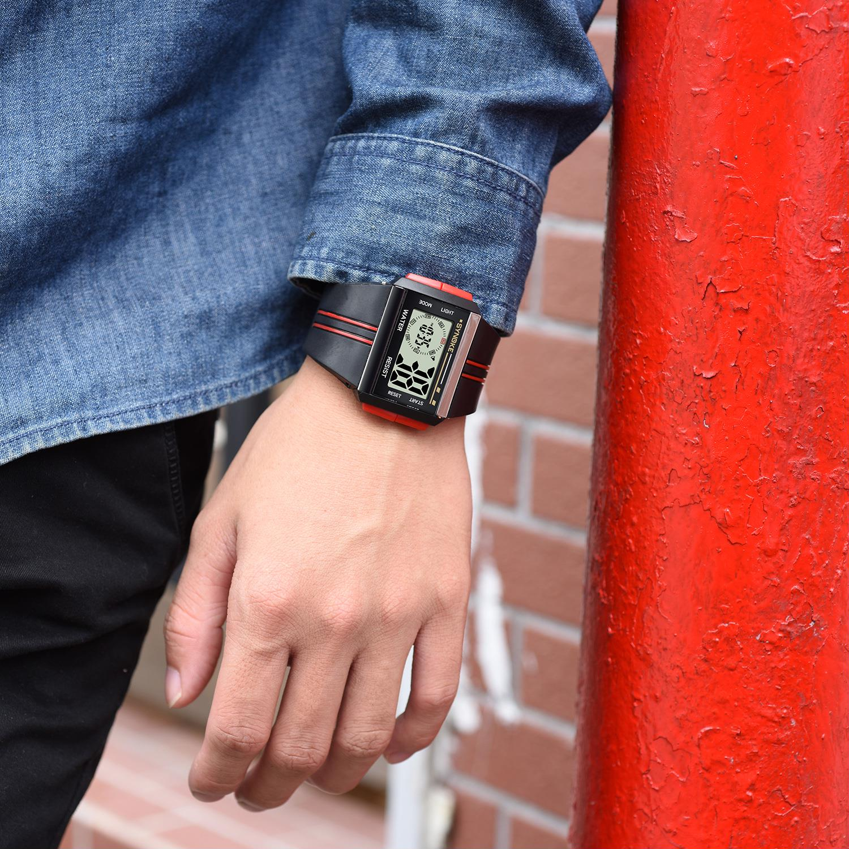 SYNOKE reloj Digital LED Digital Reloj de deporte electrónico hombre impermeable reloj Relogio Masculino Erkek Kol Saati