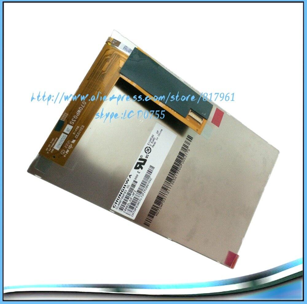 Envío Gratis nueva original 7 pulgadas LCD claa070wp03 ainol Novo 7, novo7 Venus Tablets pantalla, pantalla LCD de alta definición, 1280*800