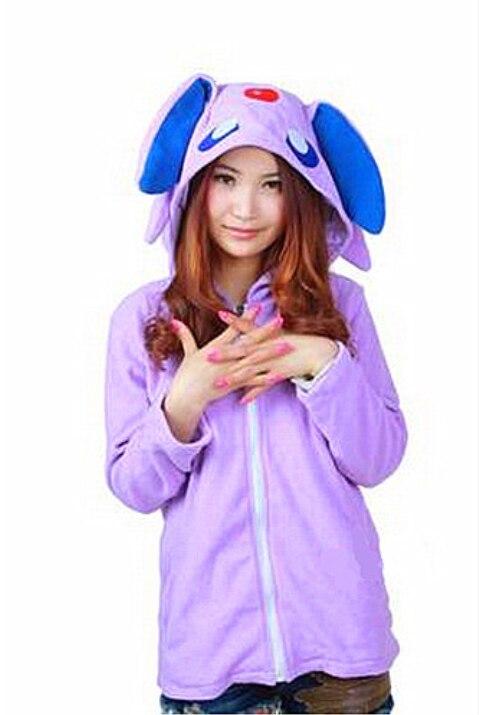 Otoño nueva sudadera abrigo Anime Pokemon paraguas traje chaqueta sudadera con capucha chaqueta para Unisex
