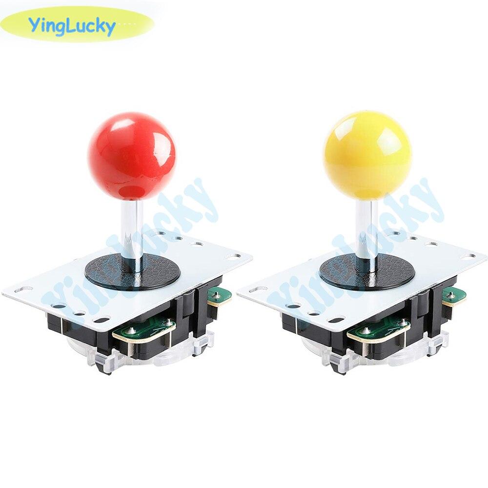 Yinglucky 2 шт. аркадный джойстик, копировальный джойстик sanwa, 5pin и шар джойстика, для аркадной игры, машины для Джаммы