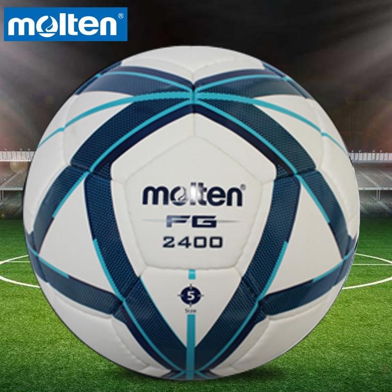 Original Molten VG980/F5G2400 tamaño 5 PU balón de partido fútbol profesional goal bolas de fútbol balon bola de fútbol
