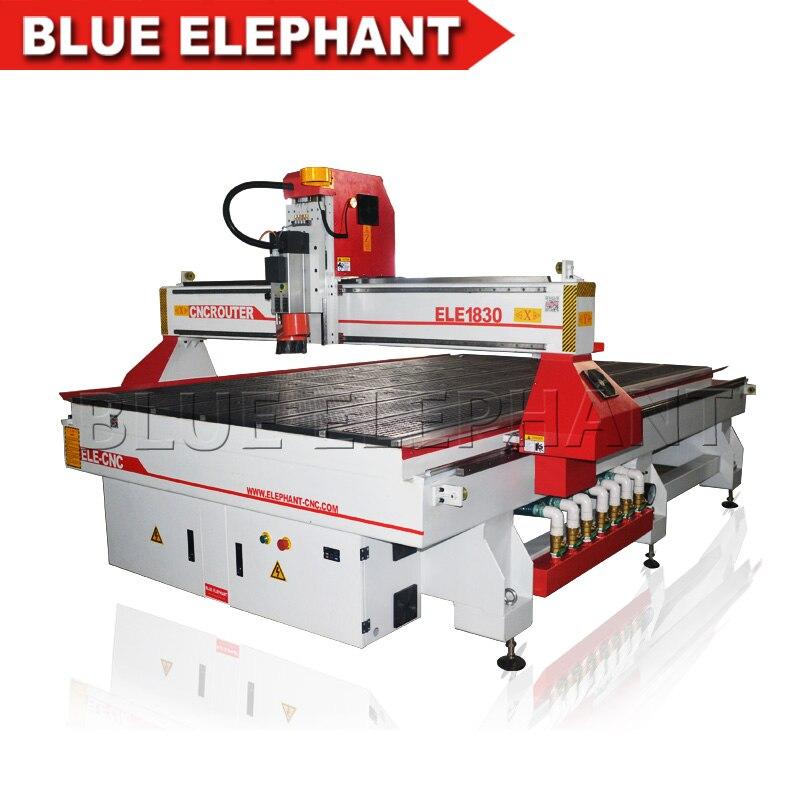 1830 CNC enrutador de carpintería de la máquina de corte de la máquina de tallado para la fabricación de muebles de la máquina de grabado