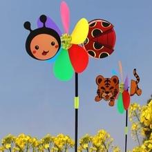 Ootdty Kleurrijke Cartoon Dier Windmolen Wind Spinner Huis Tuin Yard Outdoor Decor