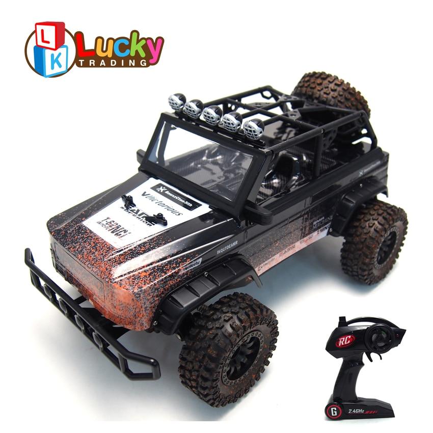 Cool Unique Graffiti High Speed Remote Control Racing Car 1:12 Professional RC Jeep Climbing Buggy Car carro de controle remoto