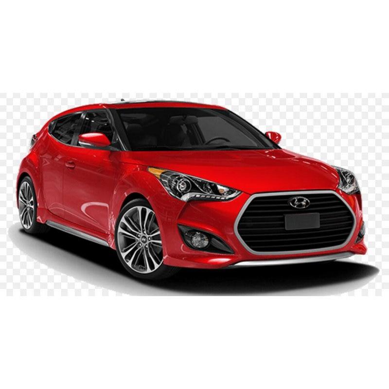 4 adhesivos para pc en el interior del coche, manija de la puerta, lámpara de ambiente para hyundai creta accent Sonata Terracan Veloster