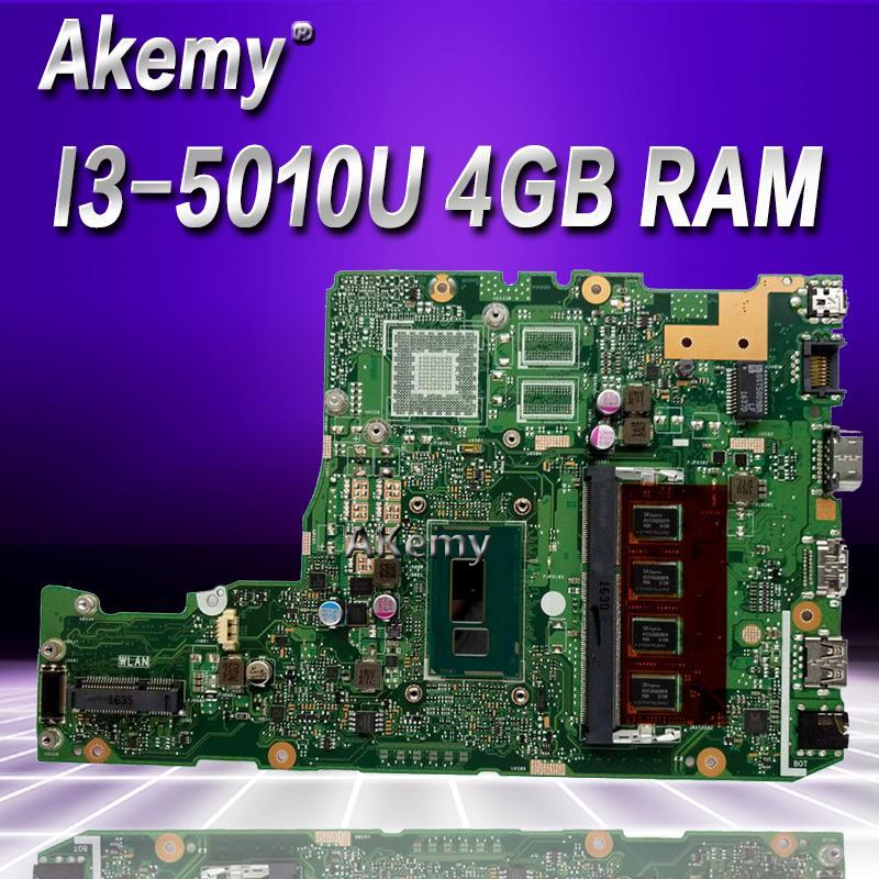 Akemy X302LA I3-5010 CPU 4GB RAM mainboard For Asus X302L X302LA X302LJ Laptop motherboard 90NB07I0-R00030 Tested free shipping