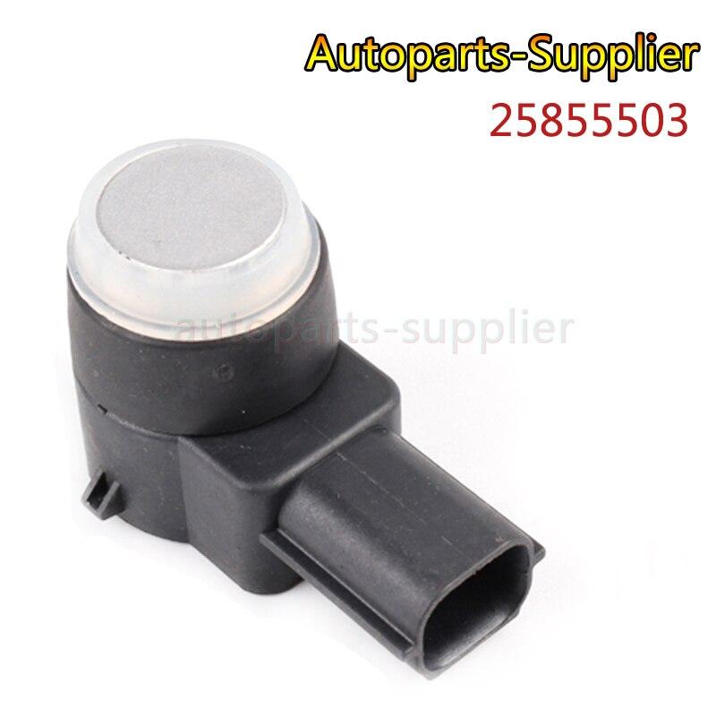 Prata Original Auto Peças Sensor 25855503 PDC Sensor Sensor de Estacionamento Sensor de Controle Para Buick GMC Chevrolet Cruze de Alta Qualidade