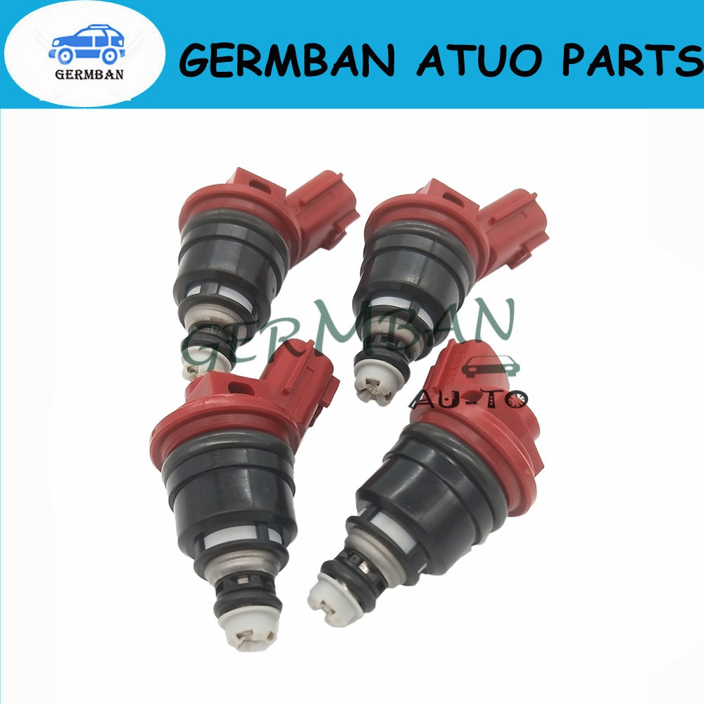 4 PÇS/LOTE Injetores De Combustível Se Encaixa Para Silvia S13 S14 S15 SR20DE SR20DET No #16600-RR544 SF-60-740CC 16600RR544 SF60740CC