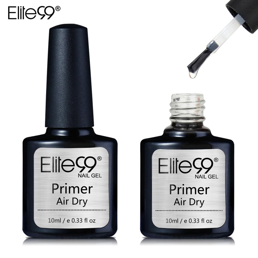Elite99 10ml Fast Air Dry Primer UV LED Gel Base Primer No Need Of UV/LED Lamp Soak Off Gel Nail Pol
