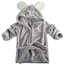 Банный халат для маленьких детей, банное полотенце с капюшоном и изображением животных для маленьких мальчиков и девочек, детское купальное одеяло, мягкая удобная одежда, подарок От 0 до 5 лет