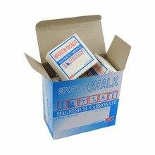 8 pcs/box Weight Lifting Gym Sports Gymnastic Chalk magnesium Sports Climbing magnesium block barbell Free shipping