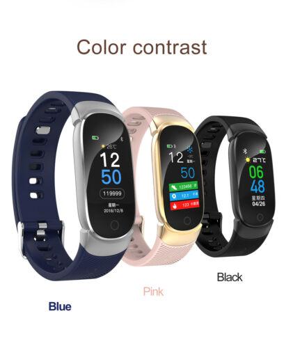 Pulsera deportiva inteligente impermeable, pulsera Bluetooth 4,0, pulsera inteligente, reloj deportivo, rastreador de ritmo cardíaco, presión arterial, movimiento 3C10