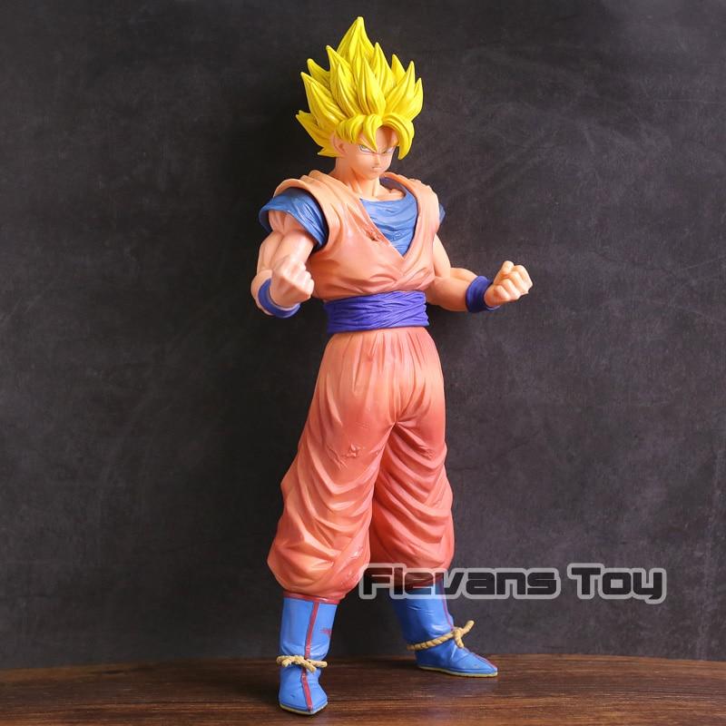 Dragon Ball Z Grandista Resolution of Soldiers ROS Super Saiyan Son Goku Gokou PVC Figure Collectible Model Toy