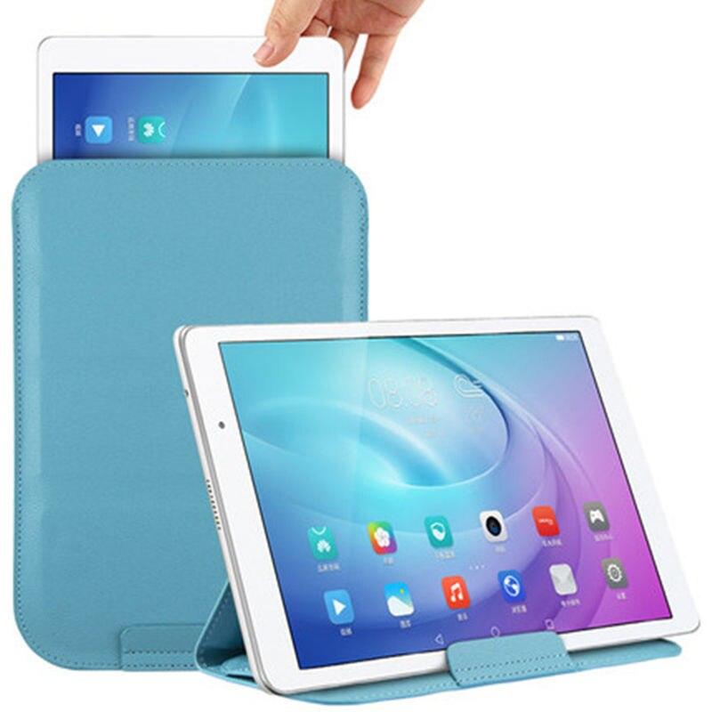 "2018 manga Funda para Huawei MediaPad T5 10 AGS2-W09 AGS2-L09 AGS2-L03 AGS2-W19 10,1 ""Tablet bolsa de cuero de la PU cubierta de la Funda"