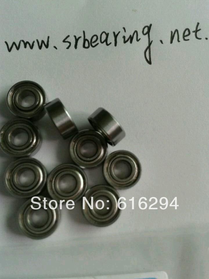 10pcs S683ZZ Stainless steel bearings  3*7*3     S683ZZ bearings   free shipping su440c