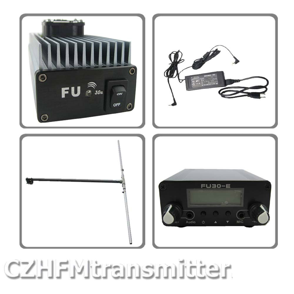 FMUSER FU-30A 30W Professional FM amplifier transmitter 85-110MHz