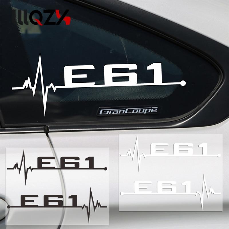 2 teile/los M power leistung auto fenster aufkleber E28 E30 E34 E36 E39 E46 E60 E61 E62 E90 E91 E92 LOGO für BMW Auto zubehör