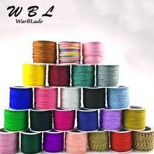 Haute qualité 120m 0.8mm coton Nylon cordon fil chinois noeud corde corde perle bricolage Shamballa Bracelet collier fabrication de bijoux
