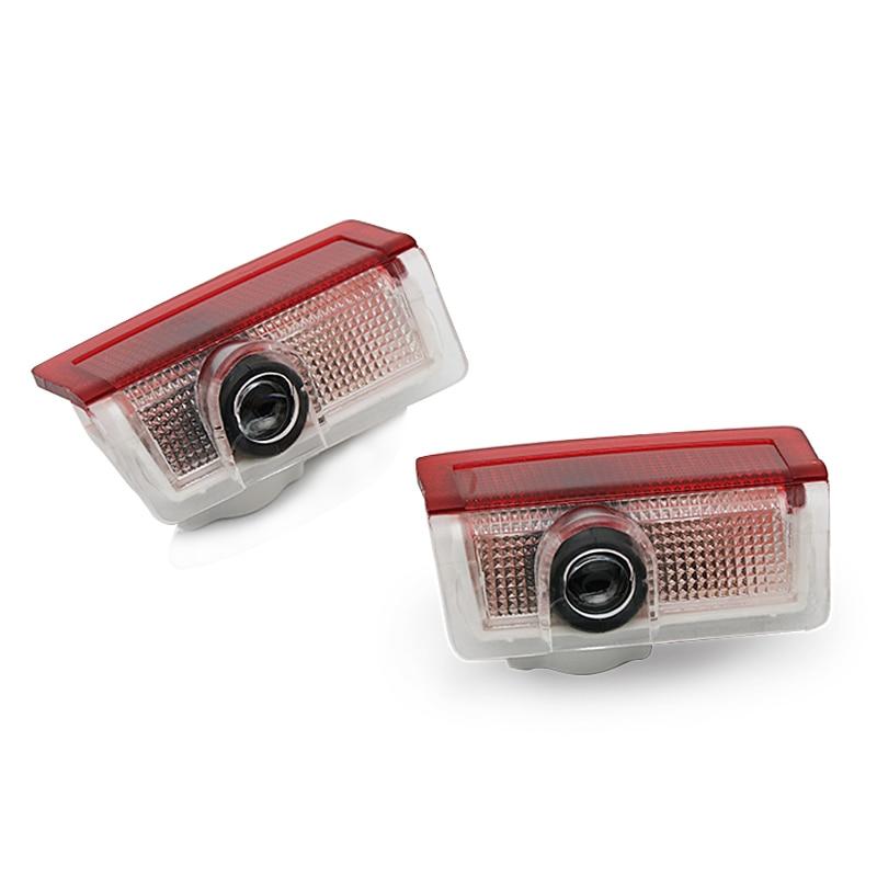 Projecteur Laser de porte de voiture   2 pièces, autocollant de lampe de bienvenue pour mercedes-benz W212 W176 4MATIC A B C ML GL Class W246