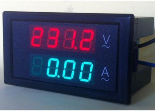 DL69-2042 4 dígitos Dual Digital LCD Panel Amp Medidor de Corrente Volts 100A AC80-300V combo tester Voltímetro Amperímetro Digital de 21% off