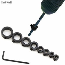 Foret entrepôt 8 pièces outils généraux & Instruments anneau de limite de foret-3,4, 5,6, 8,10, 12,16mm assortiment de butée de foret pour forets Con