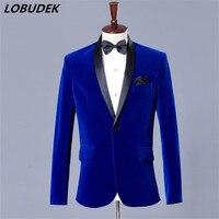 Официальная мужская куртка темно-синее пальто наряд блейзер свадебные костюмы для жениха для студийной съемки деловая верхняя одежда паль...