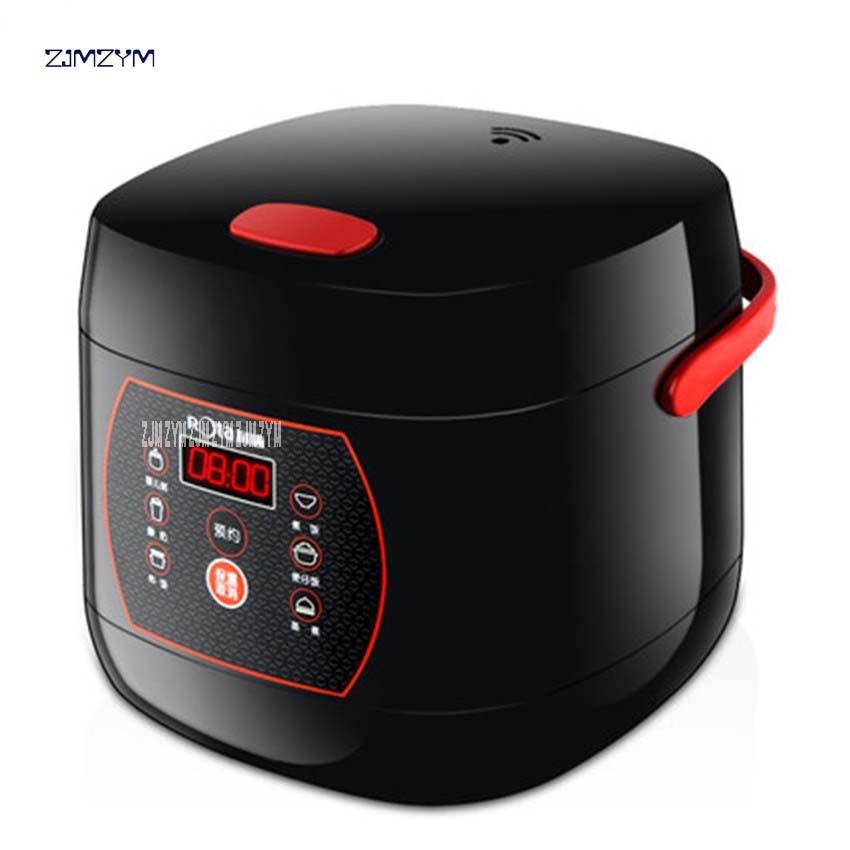 RTFB-20HW Mini, cocina de arroz con microordenador inteligente 2L, cocina pequeña de arroz adecuada para 1-2 personas, eléctrica, antiadherente