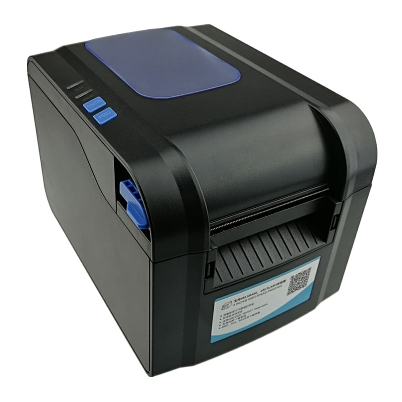 Принтер для печати этикеток, этикеток, чеков, штрих-кодов, qr-код, маленький билетный купюр, pos-принтер с поддержкой ширины 20-80 мм, скорость печ...