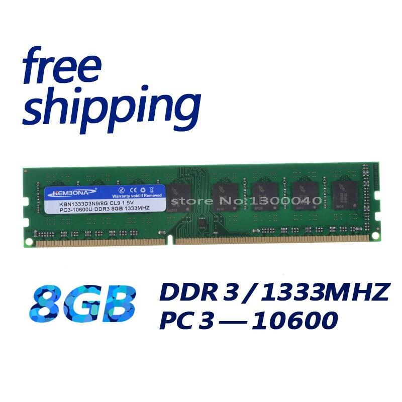 KEMBONA DDR3 1333 МГц 8 ГБ для A-M-D 4 бит RAM совершенно новая настольная Ram Память память для рабочего стола RAM память/Бесплатная Доставка!