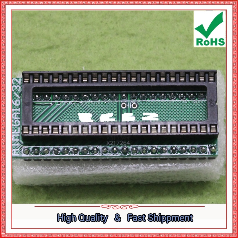51 AVR ATMEGA16 Adapter Board für Single Board Entwicklung Bord modul (C5A4)
